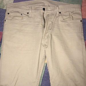 Man Levis Khaki Jeans